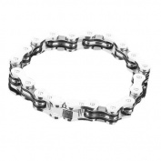 Bike Bicycle Chain Style Stainless Steel Mens Bracelet w/ Gift Box