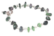 Reiki Jewels Ruby In Zoisite Chipped Bracelet