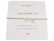 A Little Thank You Bridesmaid Bracelet From Joma Jewellery