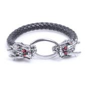Men's Dragon Bracelet Classic Black Orient Dragon Cool With Craft Gift Box