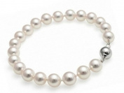 StunningBoutique Fine Jewellery Cultured Freshwater Pearl Bracelet 9-10mm 7.5 nches White Pearls Bracelet *Presented in gift Box*