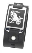 DOOSTI Zodiac Bracelet Capricorn, Leder, Stainless Steel 316L