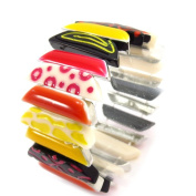 """'french touch' bracelet """"Salade De Fruits"""" yellow red black."""