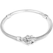 Lovelinks Sterling Silver Butterfly Bracelet - 20cm
