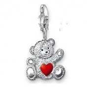Dream Charms and Silver Jewellery Love Bear Charm