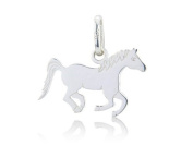 Gemma J Silver Running Horse Charm CMN237