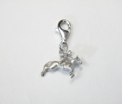 Horse and Rider Charm