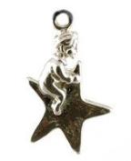 CLASSIC DESIGNS Sterling Silver 925 Twinkle Twinkle Little Star Charm N494