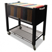 InstaCart File Cart, 15w x 28-1/4d x 27-3/4h, Black