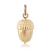 Gemma J Rose Gold Vermeil Acorn Charm