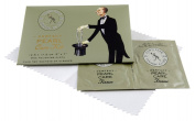 """Town Talk Perfect Pearl Care Kit 12.5cm x 17.5cm - 5"""" x 7"""" with 2 Sachets of Cleaner"""