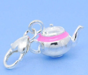 Believe Beads © x1 Teapot Clip on Charm Bead will fit thomas Sabo Type charm