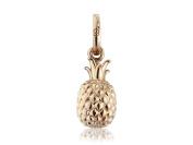 Gemma J Rose Gold Plated Vermeil Pineapple Charm CMN259
