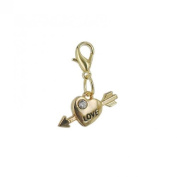 Charm Love in Gold plated 18K by Charm's Goldline