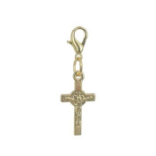 Charm Cross in Gold plated 18K by Charm's Goldline