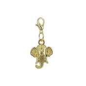 Charm elephant in Gold plated 18K by Charm's Goldline