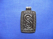 Bronze Urnes Snakes for Skill and Ingenuity Amulet Talisman Pendant