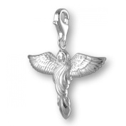 MELINA Charms clip on pendant angel sterling silver 925