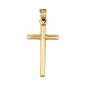 14ct Gold Cross Pendant - JewelryWeb