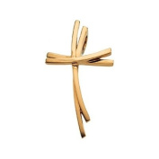 14ct Yellow Gold Cross Pendant - JewelryWeb
