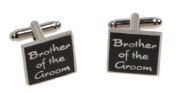 BROTHER OF THE GROOM Wedding Day Cufflinks