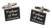 FATHER OF THE GROOM Wedding Day Cufflinks