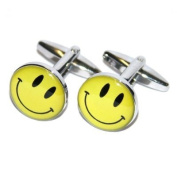 Quality Smiley Face Cufflinks