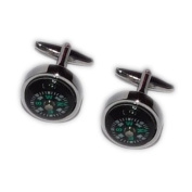 Real Working Compasses Cufflinks.
