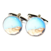 Hamster Wheel Design Cufflinks