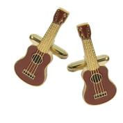 Ukulele Cufflinks - Ukulele Guitar Cufflinks Gift Boxed By Kitsch Cufflinks