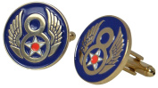 American 8th Airforce US Cufflinks with a Presentation Box
