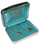 Silver Plated Rugby Balls High Quality Cufflinks