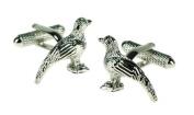 Pheasant Cufflinks by Onyx-Art CK619