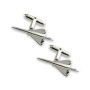 Sterling silver Concorde cufflinks