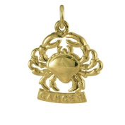 Sayers London 9ct Gold Cancer Crab Charm