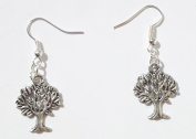 Silver Earring Tree of Life Tibetan by Aphrodite Gold