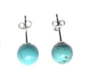 Turquoise 925 silver Earrings at unbeatable price