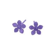 Titanium Purple Earrings