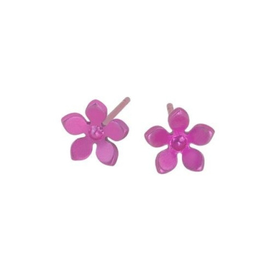 Titanium Candy Pink Earrings