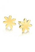 Daisy Gold Riviera Stud Earrings