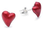 Heartbreaker Crown Of My Heart LD LP 23 RM Sterling Silver 925 Stud Earrings