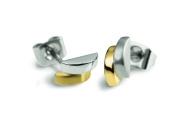 Boccia Women's Stud Earring Titanium Bico 055203