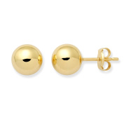 Gold Earrings, 18ct Yellow Gold Studs, by Miore, MA129EY
