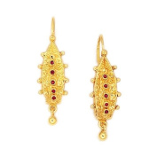 Souvenirs of France - Dauphine Earrings - Material