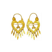 Souvenirs of France - Savoy Creoles Earrings - Width 2.9cm - Material