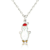 Women / Children's Penguin necklace, cute Christmas necklace with matching earrings available includes gift bag