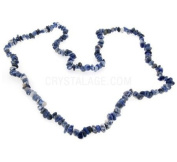 Sodalite Gemstone Chip Necklace