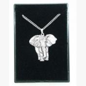 Pewter Pendant Elephant