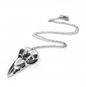 Quirky Bird Skull Necklace - Gift Boxed