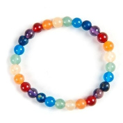 Chakra Gemstone Elasticated Power Bracelet 6mm